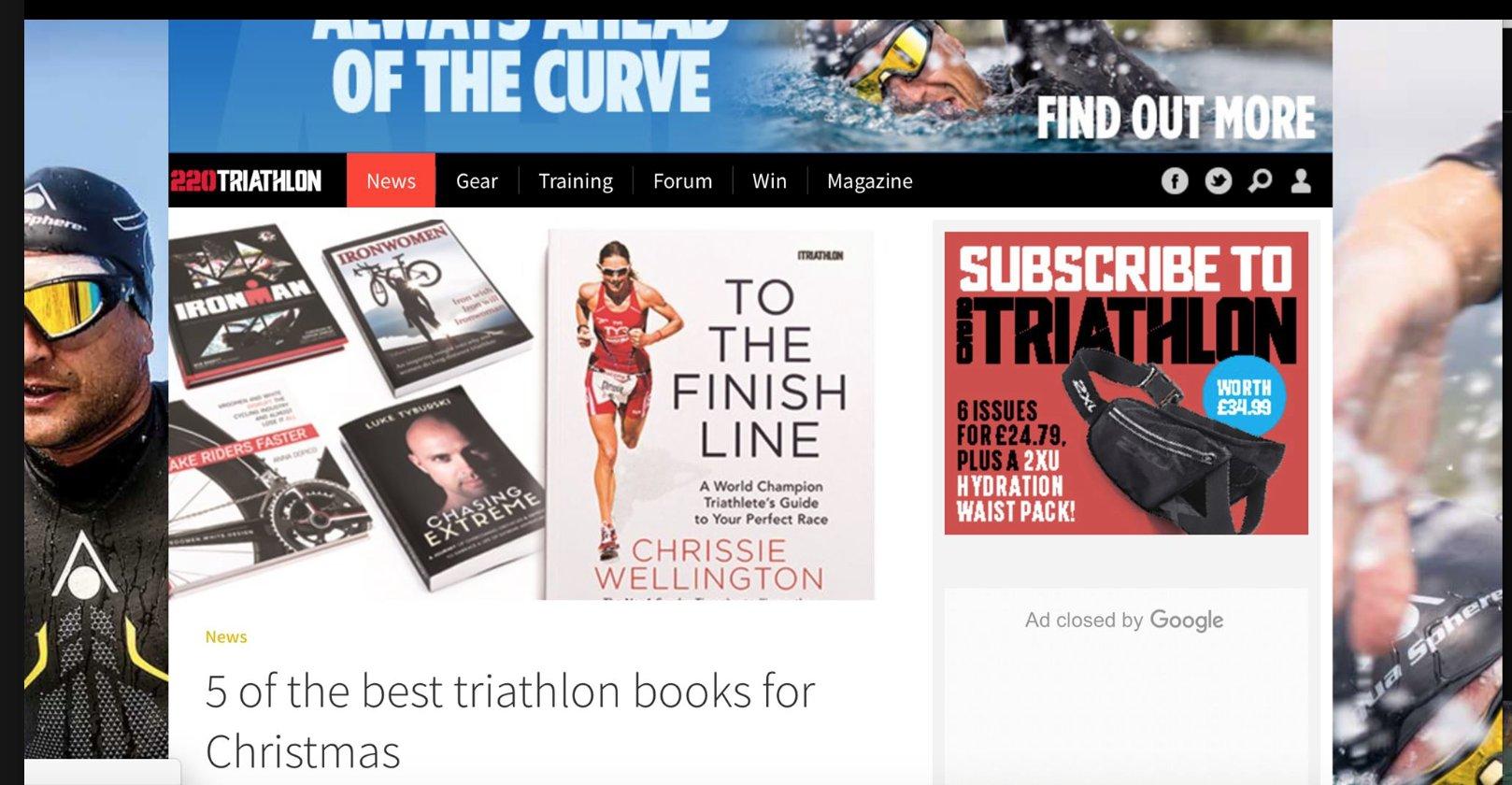 IRONWOMEN picked #1 by 220 Triathlon Mag